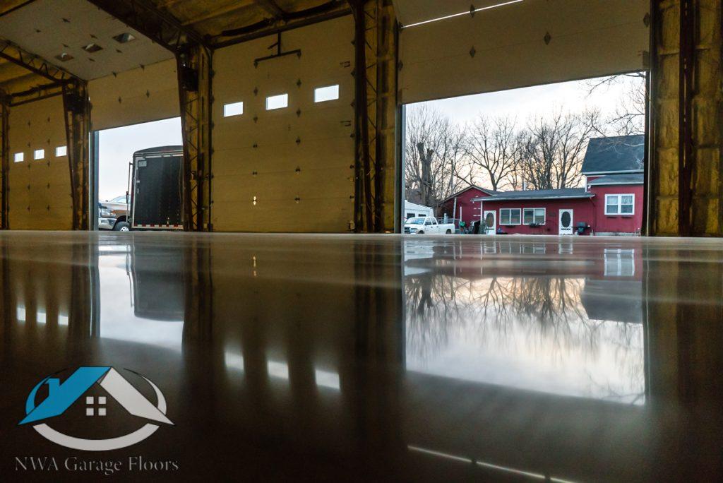 NWA Garage Floors - Polished Concrete Garage Floors