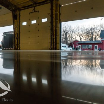 Arkansas Polished Concrete Garage Floors