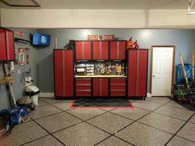 Rogers Arkansas Garage Floor Epoxy Coatings