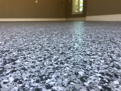 Bentonville Epoxy Flake Floor